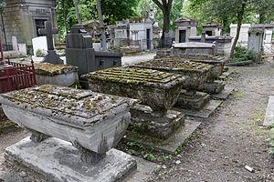 Jean-Baptiste Nicolet - Nicolet's grave at Père-Lachaise cemetery (41th division)