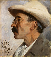 Portrait of Julius Paulsen (1860-1940)
