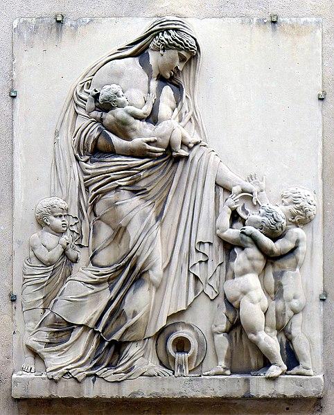 Fichier:P1000983 Paris III Rue Sévigné n°46-48 ISMH la Charité Fortin reductwk.JPG