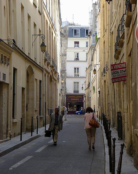 Fichier:P1100821 Paris IV rue Aubriot rwk.JPG