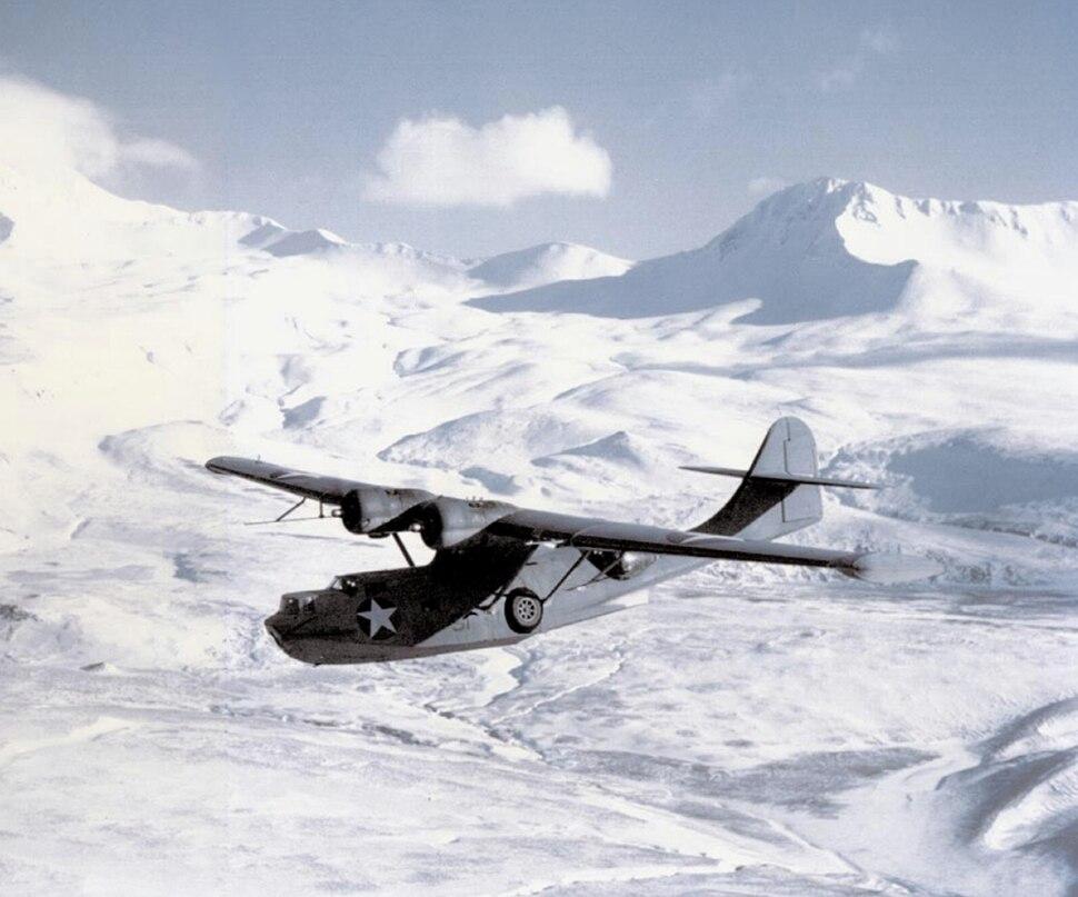 PBY-5A VP-61 Aleutians Mar 1943