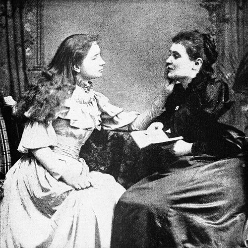 PSM V46 D665 Helen Keller and her teacher.jpg