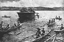 PT boat after Battle of Surigao Strait 1944.jpg