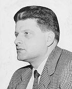 Een jonge Paddy Chayefsky in 1958.