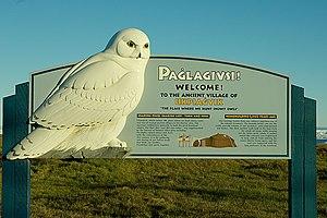 Birnirk culture - Image: Paglagivsi ukpiegvik