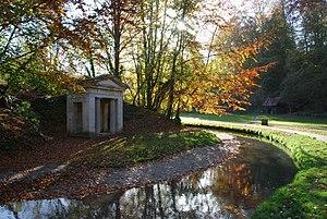 Hubbard's Hills - Memorial to Annie Pahud at Hubbard's Hills
