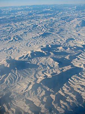 Makran - The central Makran range in Pakistan