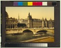 Palais de Justice and bridge to exchange, Paris, France-LCCN2001698506.tif