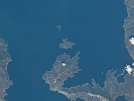 Satellite view of Trikeri