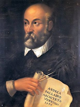 Andrea Palladio - Portrait of Palladio from the 17th century