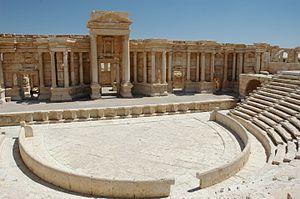 Roman theatre (structure) - Roman Theatre at Palmyra.