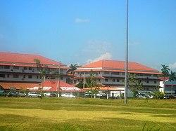 Instalaciones donde funcionó la Escuela de las Américas en Panamá.