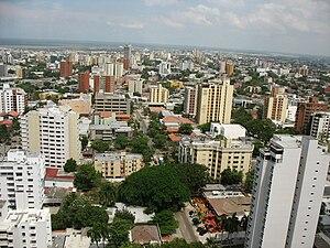 Barranquilla's general cityscape