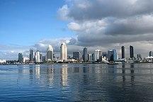 California-Evoluzione demografica-Panorama de San Diego