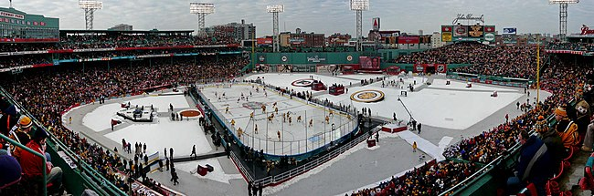 Panorama Fenway Parka na Winter Classic 2010.