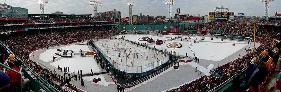 Panorama of 2010 NHL Winter Classic