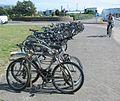 Par à bikes Route d'la Libéthâtion Saint Hélyi Jèrri.jpg