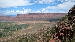 Dominguez–Escalante expedition - Paradox Valley and Dolores River, western Colorado