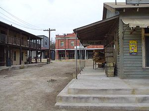 Movie ranch - Image: Paramount Movie Ranch February 2003
