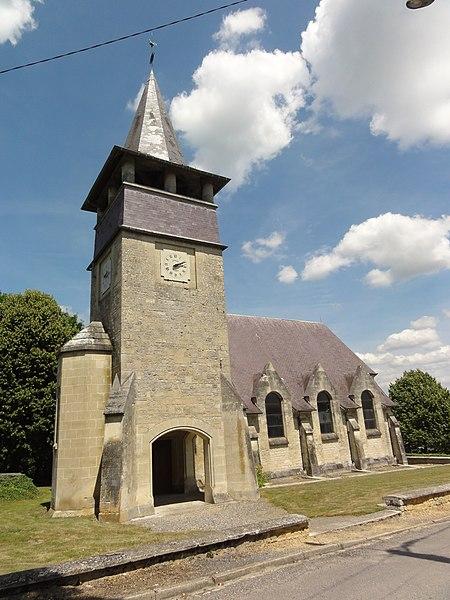 Pargny-Filain (Aisne) église