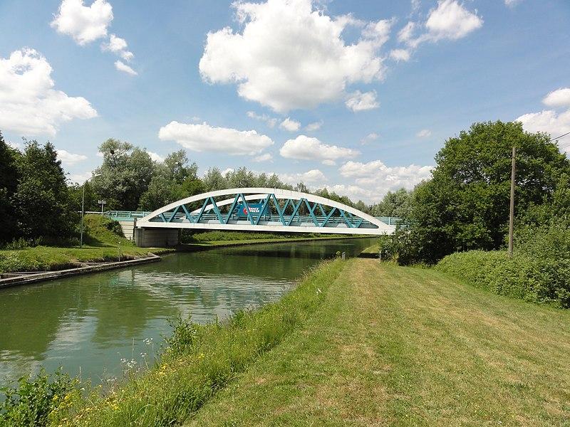 Pargny-Filain (Aisne) pont du Canal de l'Oise à L'Aisne