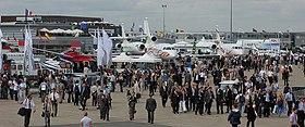 Salon international de l 39 a ronautique et de l 39 espace de paris le bourget wikip dia - Salon aeronautique bourget ...