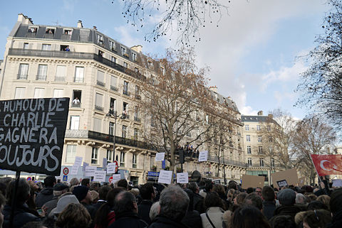 Paris Rally, 11 January 2015 - Rue du Temple - 02.jpg