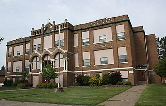 Roman Catholic Diocese of Superior - St. Anthony of Padua School, in Park Falls.