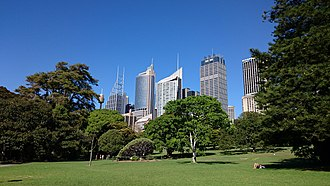 The Royal Botanic Garden; the oldest scientific institution in Australia. Park in Sydney.jpg