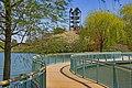 Path to the Carillon on Evening Island -- Chicago (IL) Botanic Garden April 2012 (6951008722).jpg