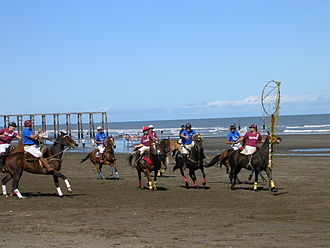 Sport in Argentina - Pato is the national sport in Argentina.