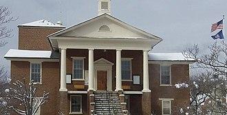Stuart, Virginia - Image: Patrick Court House