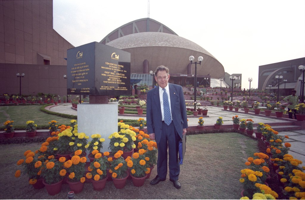 Paul Jozef Crutzen - Convention Centre - Science City - Calcutta 1996-12-21 124.tif
