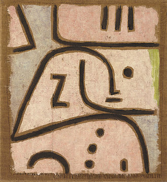 Person - An abstract painting of a person by Paul Klee. The concept of a person can be very challenging to define.