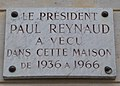 Paul Reynaud plaque, 5 Place de Palais Bourbon, Paris 7.jpg