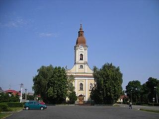 Pavlovce nad Uhom Village in Slovakia