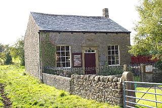 Paythorne village in the United Kingdom