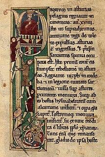 Pelagius of Asturias King of Asturias