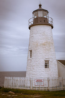 Pemaquid Point Light lighthouse in Maine, United States