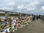 People pay tribute to those who lost their lives in the Shoreham Airshow Crash.jpg