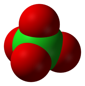 Chlorite - The perchlorate ion