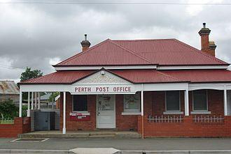 Perth, Tasmania - Post Office in  Perth, Tasmania