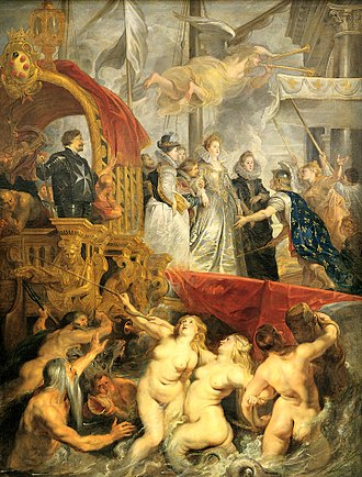 Commission (art) - The Disembarkation at Marseilles by Rubens