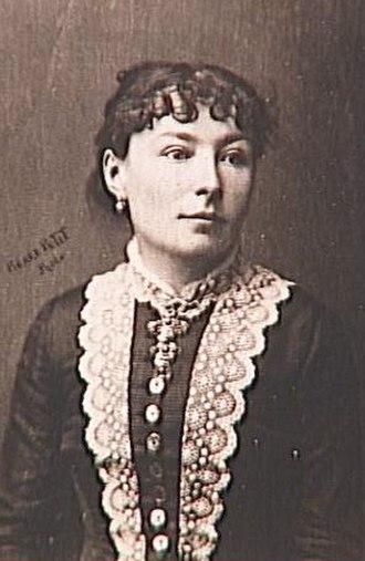 Virginie Demont-Breton - Virginie Demont-Breton c.1900, Photograph by Pierre Petit