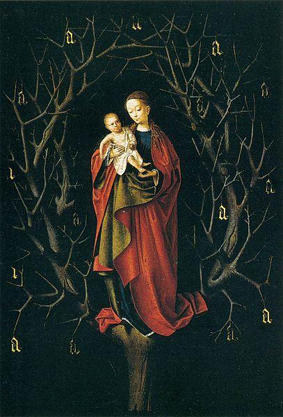 File:Petrus christus, madonna dell'albero secco.jpg