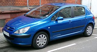 Peugeot 307 car model manufactured by Peugeot