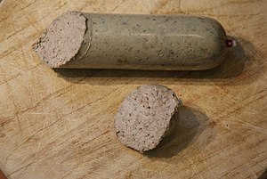 Liverwurst - Liverwurst from the Rhineland-Palatinate in Germany