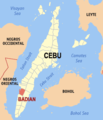 Ph locator cebu badian.png