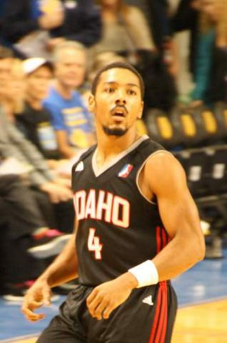 Phil Pressey - Pressey with the Idaho Stampede in 2016