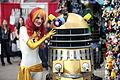 Phoenix & Dalek cosplayers (23228969879).jpg